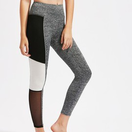 Leggings color-block incroyable tricoté