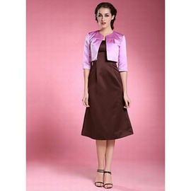 Onirique violet vintage taffetas | timeless bolero simple
