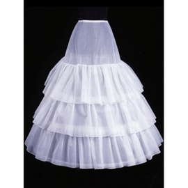 Honorable confortable cheville volants une ligne | crinolines princesse