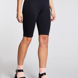 Short moulant bicolore cycliste