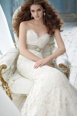 Robe de mariée impressioé naturel à la mode appliques ceinture