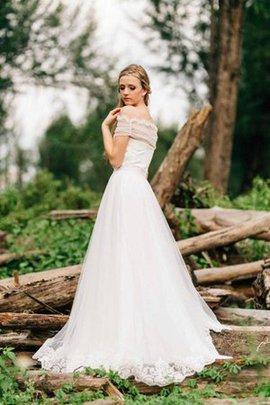 Robe de mariée naturel a plage col en forme de cœur fermeutre eclair manche nulle