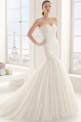 Robe de mariée elégant solennel chic fermeutre eclair avec sans manches