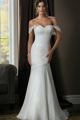 Robe de mariée naturel nature lache croisade collant