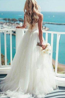 Robe de mariée impressioé romantique plissé col en forme de cœur de mode de bal