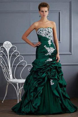 Robe de quinceanera naturel longue de mode de bal textile taffetas fermeutre eclair