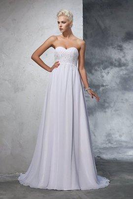 Robe de mariée fermeutre eclair avec perle avec sans manches de princesse avec chiffon