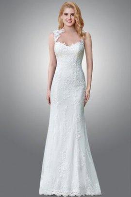 Robe de mariée serieuse distinguee sans empire avec sans manches a salle intérieure
