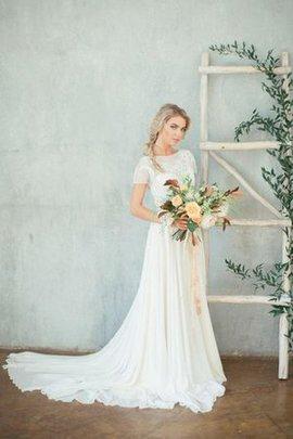 Robe de mariée romantique vintage ceinture avec décoration dentelle en plage