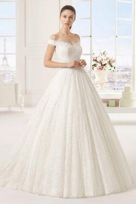 Robe de mariée romantique spécial au jardin fermeutre eclair en salle