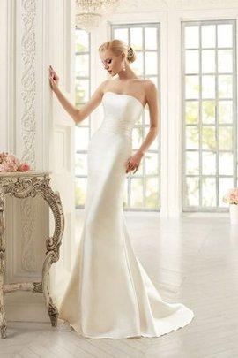 Robe de mariée elégant sexy de sirène ruché cordon