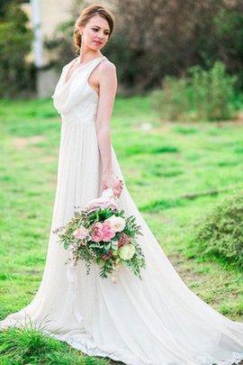 Robe de mariée vintage fendu latérale pèlerine de traîne courte fendue frontale