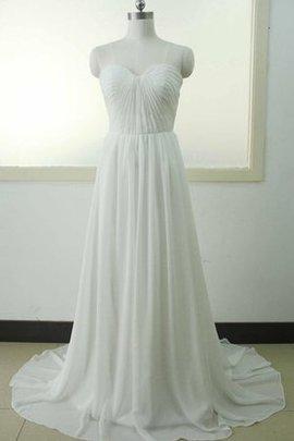 Robe de mariée textile en tulle ligne a cordon en dentelle de col en cœur