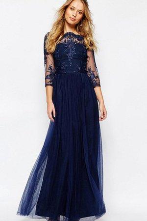 9ce2-77w35-robe-demoiselle-d-honneur-plisse-textile-en-tulle-avec-manche-3-4-a-ligne-de-col-bateau.jpg