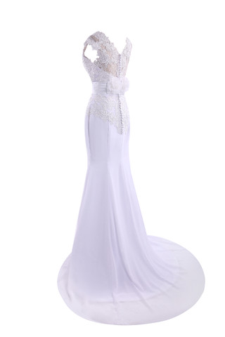 J'étais vraiment inquiet pour le mariage et 9ce2-dgvv8-robe-de-mariee-avec-bouton-au-niveau-de-cou-ceinture-haut-bucolique-de-traine-moyenne