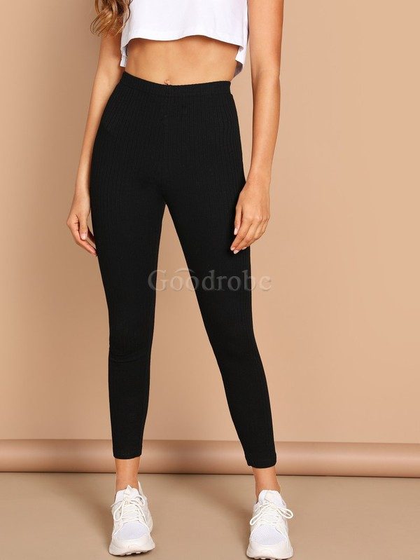 Legging unicolore fascinant taille haute - photo 1