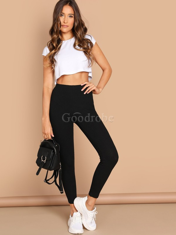 Legging unicolore fascinant taille haute - photo 5