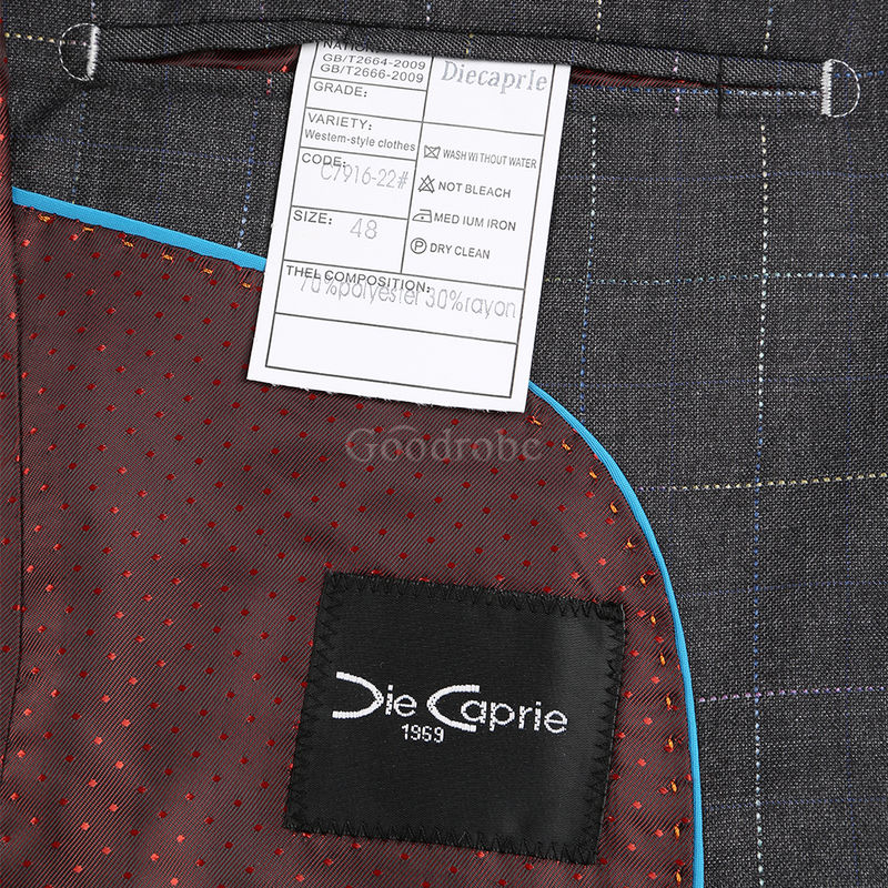 Hommes smart top qualité décontracté slim fit mâle - photo 7