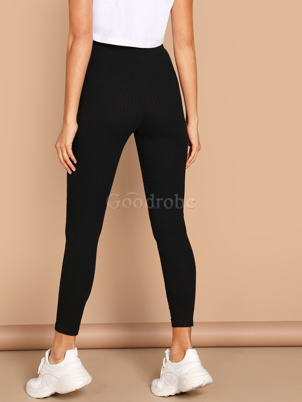 Legging unicolore fascinant taille haute - photo 2