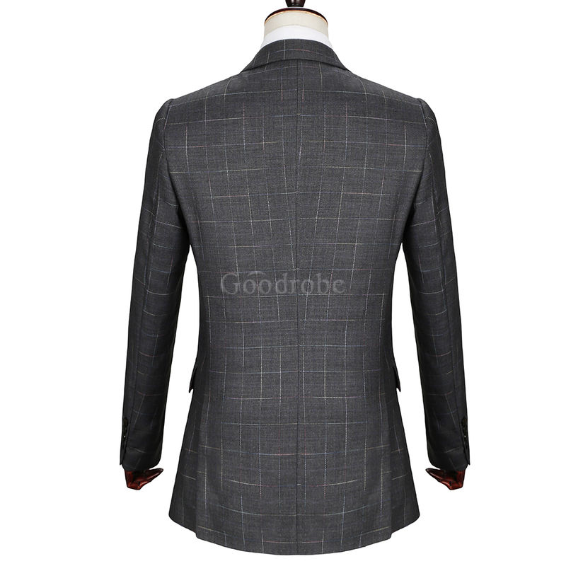 Hommes smart top qualité décontracté slim fit mâle - photo 4