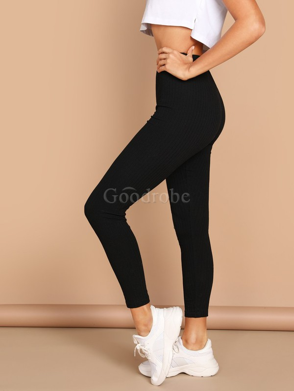 Legging unicolore fascinant taille haute - photo 3