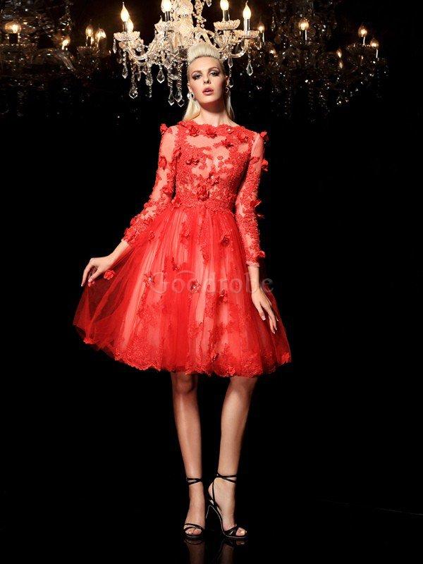 Robe de soiree courte couture